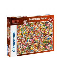 Clementoni Puzzel Impossible 1000st Emoji