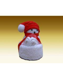 Towel dolls Kerstbeertje