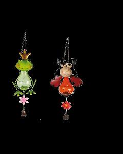 Tuinlamp kikker of kever (solar)