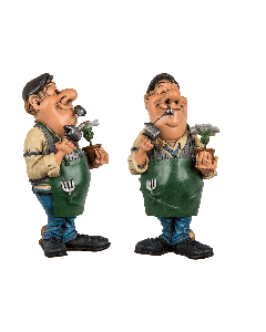 Funny figures - tuinman ##