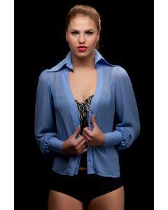 Sjjans blouse blauw