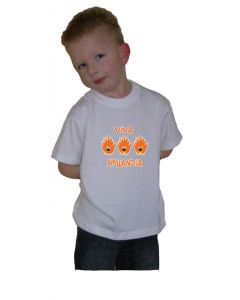 Oranje t-shirt Leeuwtjes viva hollandia