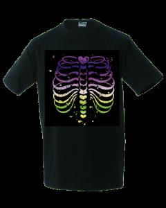 Unisex T-shirt Colourfull Ribs