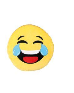 Mega pluche kussen Laughing Emotion 50 cm
