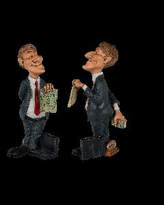 Funny figures - zakenman