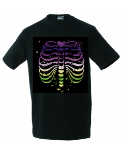 Unisex T-shirt Colourfull Ribs