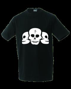 Unisex T-shirt skulls