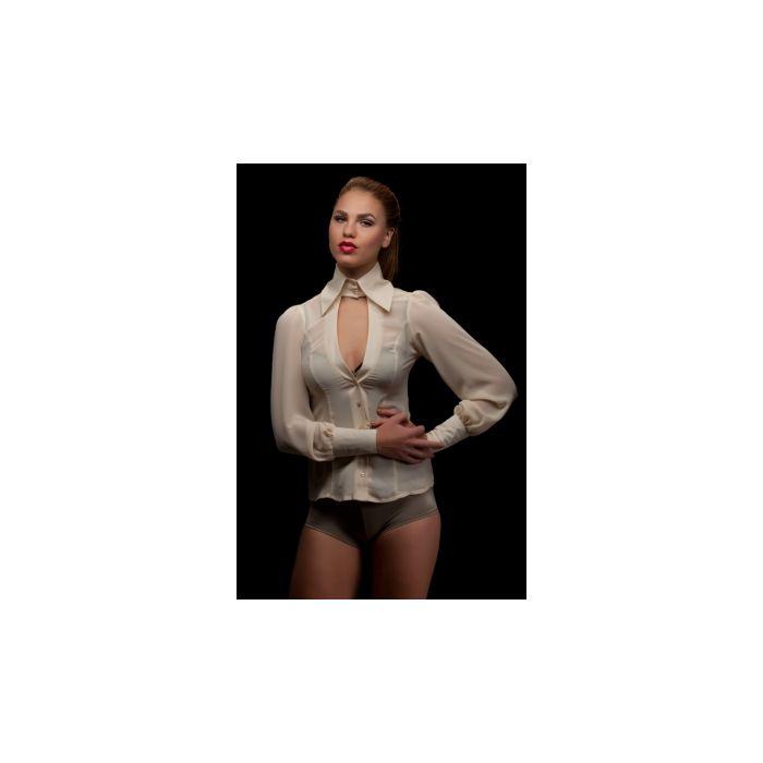 Sjjans blouse beige maat L